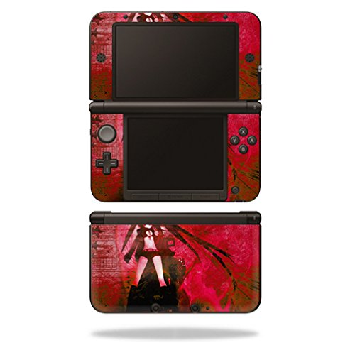 MightySkins Skin Compatible with Nintendo 3DS XL - Anime | Protective, Durable, and Unique Vinyl Decal wrap Cover | Easy to Apply, Remove, and Change Styles | Made in The USA