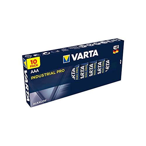 Varta Industrial Micro/ AAA/ R03/ 4003/ Alkaline Batterie, 10er Pack
