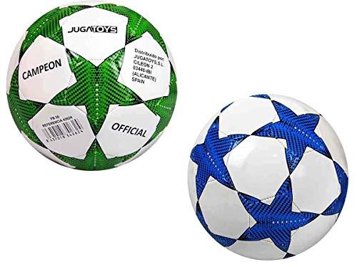 Bigbuy Sport Balon Futbol REGLAMENTO Campeon 350 GR Mod SDOS.DESHINCHADO, Multicolor (Lucid FB50)