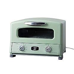 アラジン トースター 4枚 グリル&トースター オーブントースター グリーン (B612-S3)