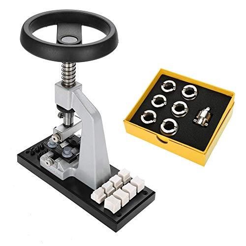 Hgedz Uhrenöffner, Uhrenreparatursatz Bankgehäuse-Entferner Uhrmacher-Reparaturwerkzeug für das Öffnen des Gehäuserückens