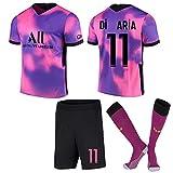 Neymar #10 Kylian Mbappé#7 Camiseta fútbol Camiseta Deportiva Manga Corta Camiseta Jersey Transpirable