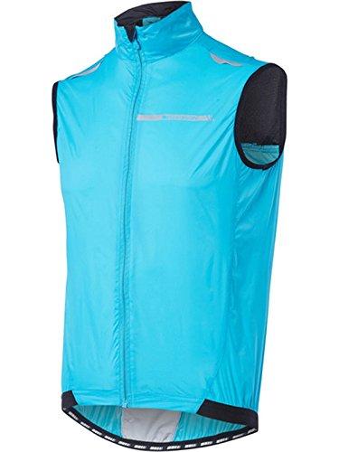Madison Sportive - Chaleco Cortavientos para Hombre (Talla pequeña), Color Azul