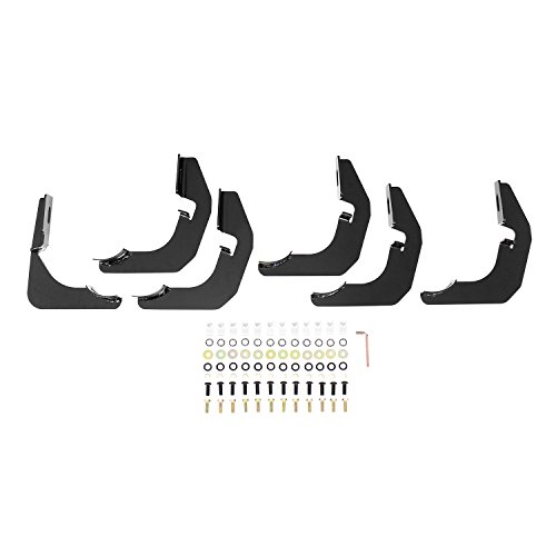 Westin Pro Traxx 4 Oval Nerf Step Bars | 2014-2020 4Runner SR5 & TRD | 2010-2017 Trail Edition (Excl. Limited) | 21-23835 | Black | 1 Pair