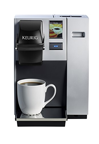 Keurig K150 Single Cup Commercial Coffee Maker, Single Serve K-Cup Pod Coffee Brewer, Silver