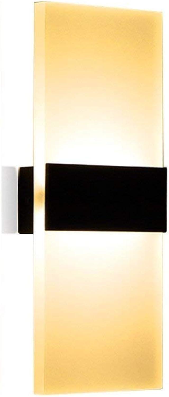 HhGold Moderne, kreative minimalistische Lounge im Hotel Corridor Die Schlafzimmer Wandlampe (weie Farbe) (Farbe   Schwarz)