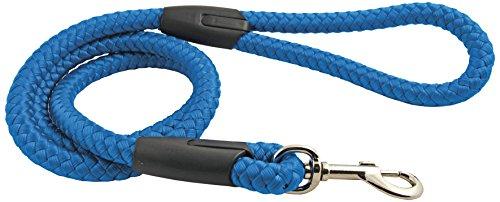 CHAPUIS SELLERIE SLA096 Correa de Perro - Cuerda de Polipropileno Azul - Diámetro 10 mm - Largo 120 cm - Talla M