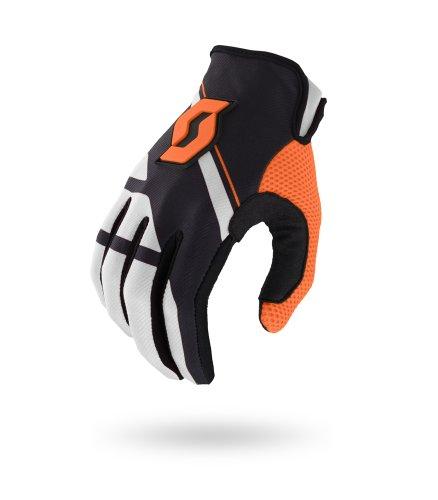Scott 350 Armada MX Motocross / DH Fahrrad Handschuhe schwarz/weiß/orange 2015: Größe: XXL (12)