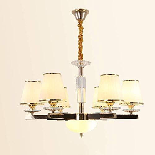 CSD Creativo sencillo nórdica lámpara de la sala de estar de la lámpara de cristal atmosférica gama alta dormitorio lámpara de la lámpara de Pasillo