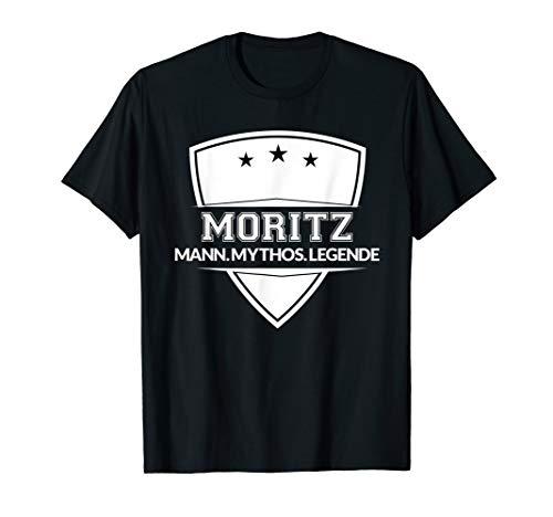 Moritz MANN MYTHOS LEGENDE Shirt Vorname Superheld Design