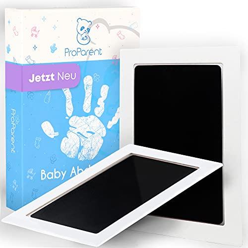 ProParent® Baby Abdruckset für Handabdruck Baby und Fußabdruck Baby (2er Pack) - 0 bis 6 Monate – Baby Handabdruck und Fußabdruck Set - Babygeschenke