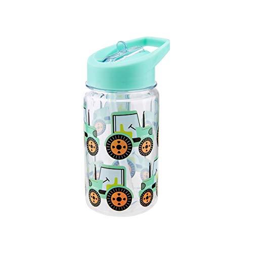Sass & Belle Botella de agua con diseño de tractor.