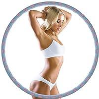 【PROFESSIONELLE HOOLA-HOOPS ERWACHSEN】 Hula Ring Reifen wurde speziell für Fitness und Training für Erwachsene! Regelmäßiges Training kann formen Sie eine charmante Kurve und einen gesunden Körper für Sie -- Mit diesem Hula Ring können sie kalorien v...