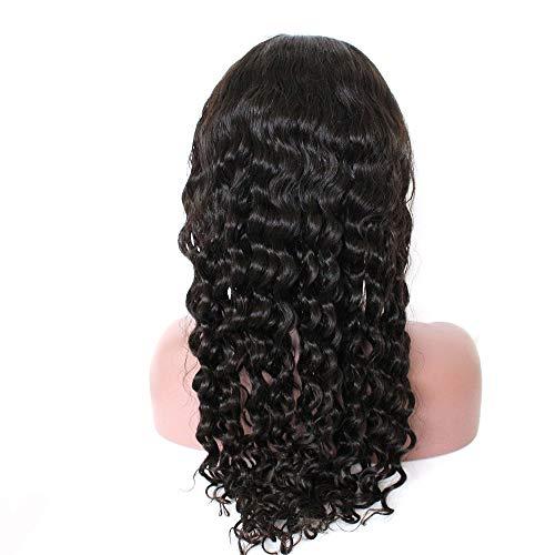 Princess New Hot Body Wave Dentelle complète des Perruques Cheveux de bébé naturelle au niveau 100% brésilienne Nature Cheveux Densité 180%