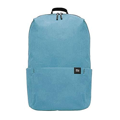 Xiaomi Mi Casual Daypack Wasserdichter Unisex Rucksack (Wasserschutzklasse IPX4, 10 Liter Stauvolumen, 1 Hauptfach, 4 Außenfächer, hochwertige YKK Reißverschlüsse, Leichtgewicht: 165g) Blue (Blau)