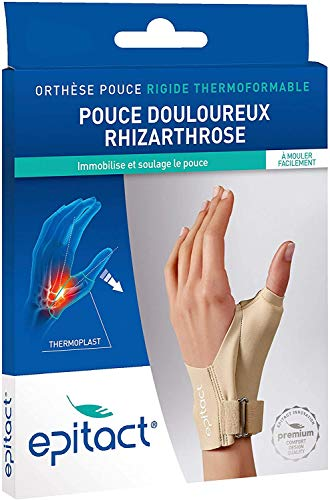 Epitact Orthèse Rigide de Nuit Pouce Douloureux Main Droite - L