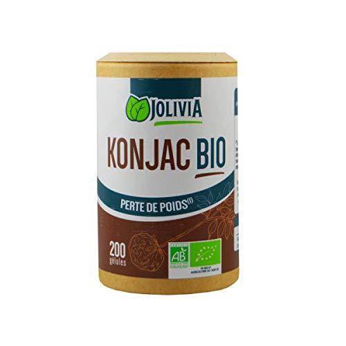 Jolivia Konjic Bio 200 Gélules Végétales de 410 mg