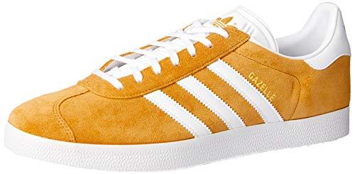 adidas Gazelle, Zapatillas Hombre, Marrón (Mesa/Footwear White/Footwear White 0), 41 1/3 EU