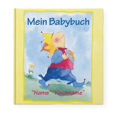 YourSurprise Personalisiertes Kinderbuch mit Namen: Mein Babybuch,Babybuch Hardcover