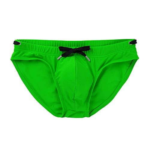 YOOJIA Hombre Bañador de Natación con Rellenos Almohadilla Extraíble Trajes de Baño Pantalones Cortos de Secado Rápido