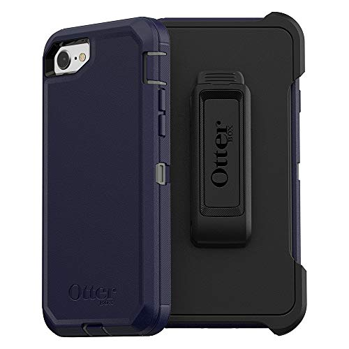 OtterBox Defender Series Case for iPhone SE (2nd gen - 2020) - Stormy Peaks (Agave Green/Maritime Blue)