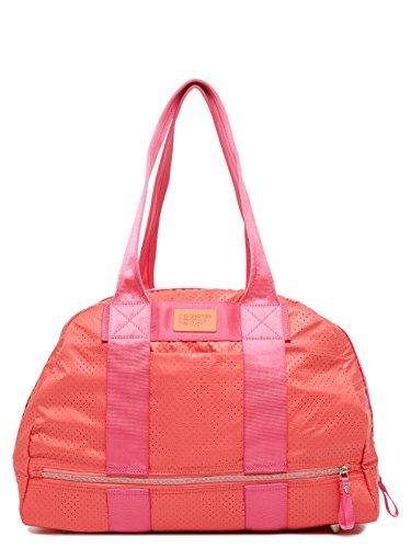 GEORGE GINA & LUCY, Damen Handtaschen, Bowling Bag, Schultertaschen, Henkeltaschen, 46 x 27 x 17 cm (B x H x T), Farbe:Pink