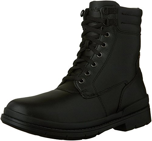 Clarks Kimball Rise Mens Lace Up Winter Boots Black 12