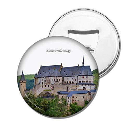 Weekino Luxemburger Ritterburg Bier Flaschenöffner Kühlschrank Magnet Metall Souvenir Reise Gift