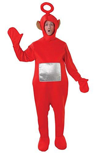 Rubies Offizielles Po-Kostüm, Teletubbies, für Erwachsene,Standardgröße