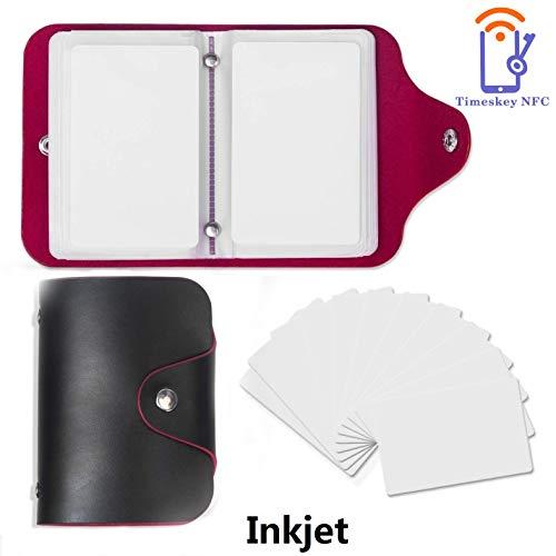 NFC Tag NXP NTAG215 23 Stück Inkjet NFC Karten Kompatible Mit Amiibo Zur Herstellung Von Zelda,22 Stück Set Mit Kartenhalter Von TimesKey(22 Stück +1 Stück Bonus Karte)