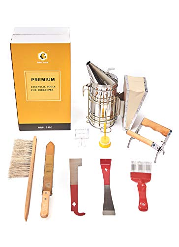 Beekeeping Supplies Beekeeping Tools for Beekeeper Necessary Bee Supplies Beekeeping Kit 9 Pcs