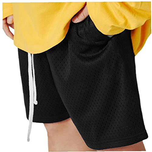 Naisicatar Hombres pantalón Corto Letras Impresas elástico de Cintura los Pantalones Cortos Carta Cinco Pantalones con cordón