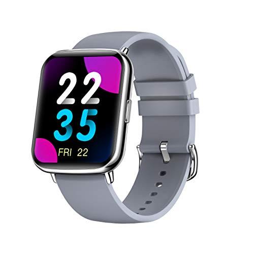 ZGLXZ X27 Smart Watch, Hombres Empresas Impermeables Smartwatch Heart Rater Fitness Tracker Bracelet Women Clock para iOS Android,C