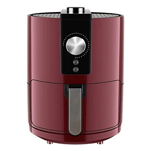 RENXR Freidora De Aire Sin Aceite, Capacidad 3.5 L, 1400W, Cesta Antiadherente, Apagado Automático. Libre De BPA.