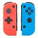 Elyco Wireless Controller für Nintendo Switch, 2er-Set Kabelloser Bluetooth Replacement Joycon Gamepad Joypad Joystick Links Rechts Kompatibel für Nintendo Switch Controller