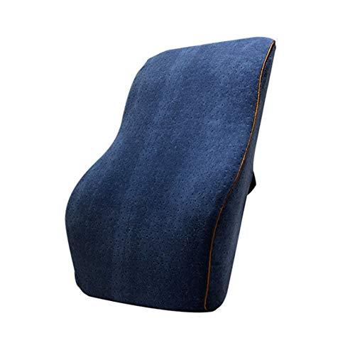 WangXN Lordosensteun kussen rugkussen voor bureaustoel met traagschuim reliëf rugpijn voor autobank