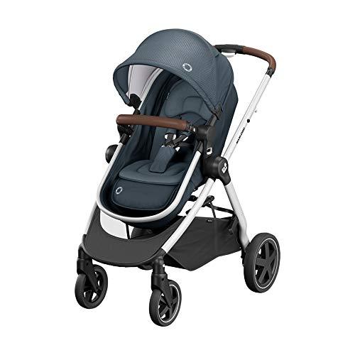 Maxi-Cosi Zelia² Cochecito 2 en 1, apto desde el nacimiento, 0 meses - 4 años, 0-22kg, Essential Graphite (gris)