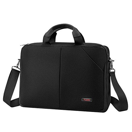 Plemo Laptoptasche Notebook Umhängetasche mit Schultergurt für 15-15,6 Zoll Laptops