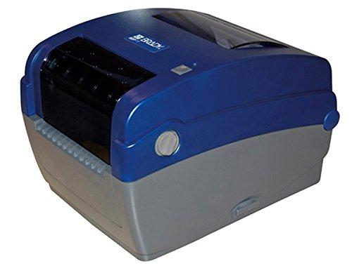 Brady 804775 Etiquette BPT sur Mandrin Standard BPT-659-498 pour Imprimante BBP12 pour Tubes Coniques/Bouteilles/Boîtes de Petri/Microplaques, 25.40mm x 12.70mm, Lot de 1000