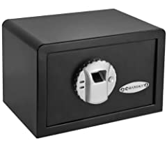 Secure Storage: Our DOJ approved safes comes with a 120 fingerprint biometric module that is easy to program. The Optional Silent Mode: The safe features a silent mode that enables stealthy home defense. Solid Construction: This safe is built with du...