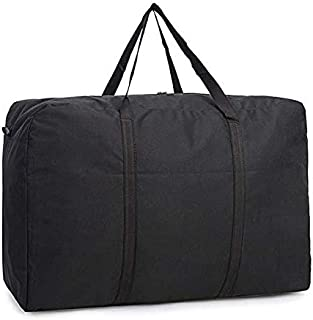 Oxford Cloth Storage Bag Thick Wear-Resistant Waterproof Handbag Baggage Check Large Capacity Parcel 96x28x48cm