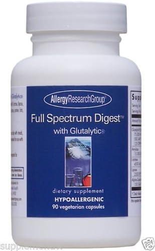 Full Spectrum Digest 90 Vegcaps A70003 By Allergy Research Group by Allergy Research Group product image