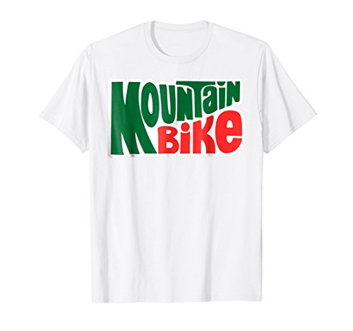 Mountain Bike Dew Style Graphic Outdoor Theme T Shirt