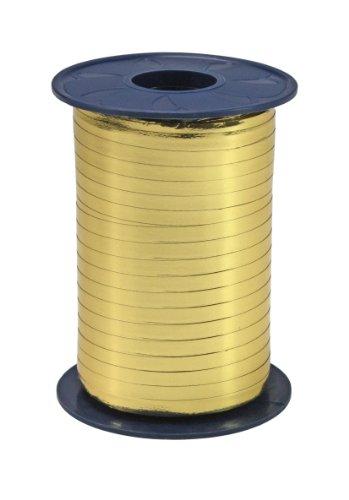 Präsent Ringelband, gold, 400-m-Spule 5 mm