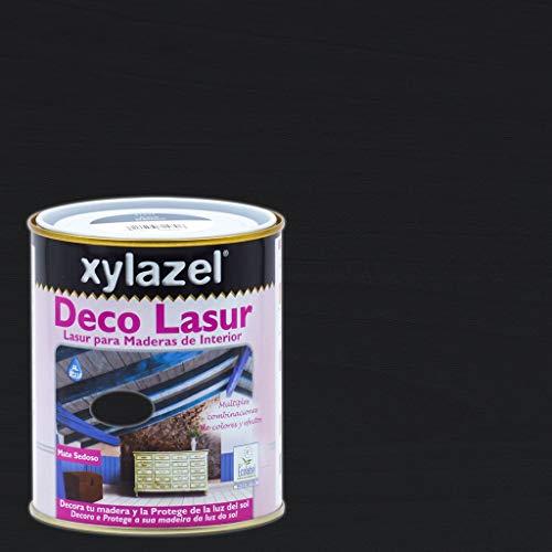 Xylazel - Protección madera deco lasur750ml baltico negro