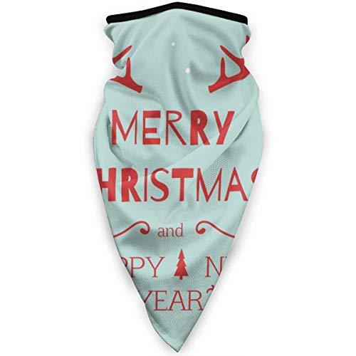 liukaidsfs Cache-Cou Guêtre Coupe-Vent Sport Visage Moto Bandeau et Bonnet pour Hommes Femmes Bonne Année Et Joyeux Noël Personnalisé