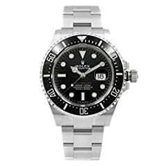 Black Dial, 904L Oystersteel Stainless Steel Case and Oyster Bracelet and 43mm Case Diameter Black Ceramic Cerachrom Bezel Insert with Platinum Coated Numerals and 60 Minute Graduations on Bezel Folding Oysterlock Safety Clasp with Rolex Glidelock Ex...
