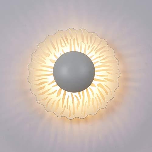 Topmo-plus decorativo Apliques pared interior Bañadores de pared Hierro dormitorio Iluminación pared metalla / 5W EPISTAR COB lámpara de comedor/dormitorio/sala de estar/blanco/ 3000K 9 inch
