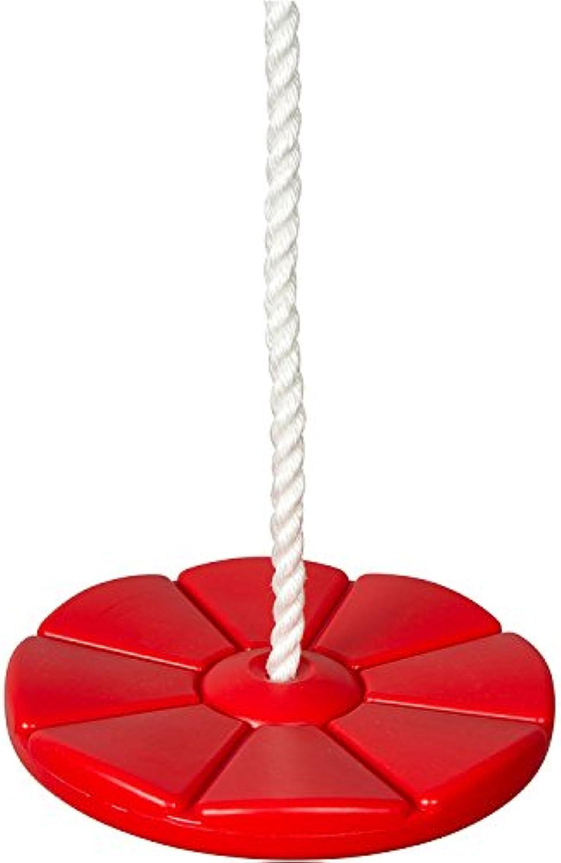Swing Set Stuff Daisy Disc with SSS Logo Sticker, Red