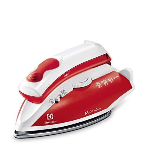 Electrolux EDBT800 Perfect Motion Travel Steam Iron, 800 W, 920 g, Rojo
